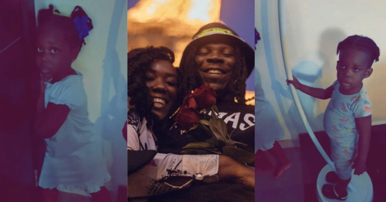 Stonebwoy's Children Give Their Mum Tough Time In Hilarious Video » ™