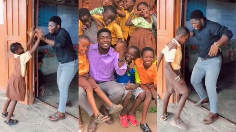 Twins Diaries,Patrick And Frederick Take Teaching To A Next Level As They Support Their Pupils With Uniforms (+Video & Pictures) » ™