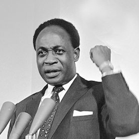 Kwame Nkrumah was the primus inter pares of Ghana's independence struggle