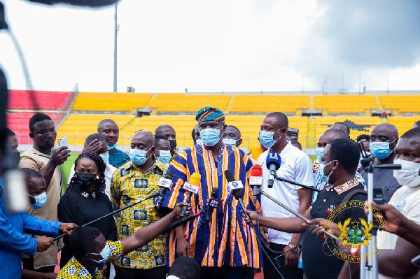 Baba Yara Stadium ready for use – Sports Minister declares