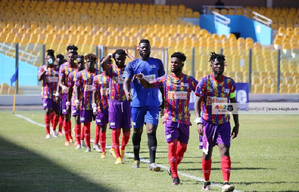 Wydad to host Hearts of Oak in return leg of CAF Champions League on Sunday