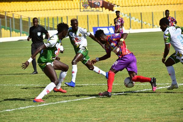 Hearts of Oak 2-0 CI Kamsar (CAF Champions League)