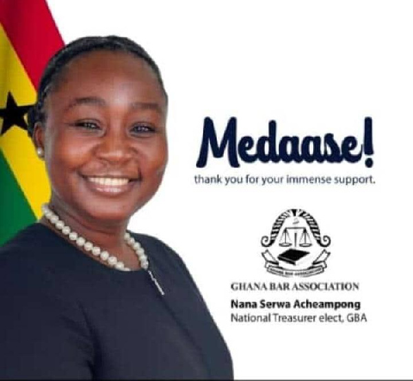 I.K Acheampong's daughter elected National Treasurer of Ghana Bar Association