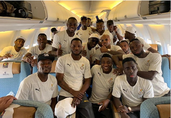 Black Stars to travel by chartered flight to South Africa for World Cup qualifier