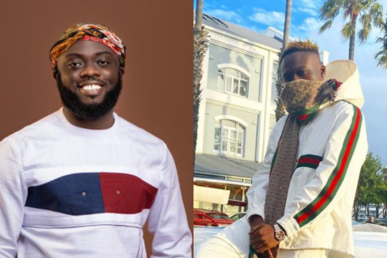 Okese1 Showers Kwadwo Sheldon With GHC 2,000 On His 28th Birthday
