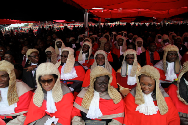 'Be fully robed in wig and gown, for court sittings at all times' – CJ reminds Judges, Magistrates