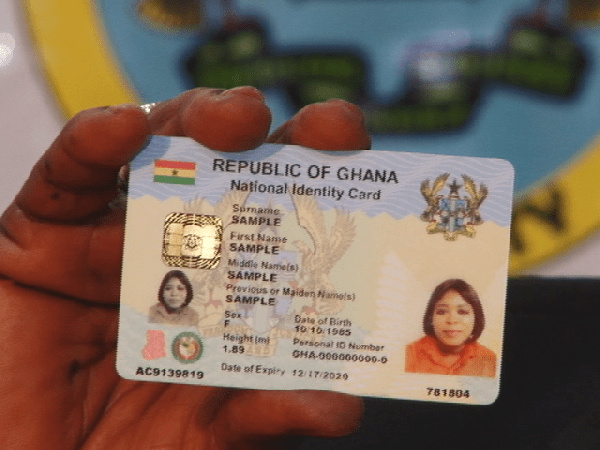 NIA announces charges for Ghana Card