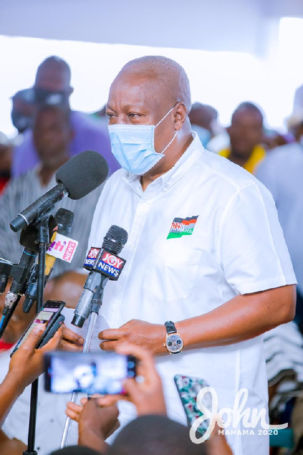 Today in 2020: 'You're always scared to chastise Akufo-Addo but quick to condemn NDC, be fair!'