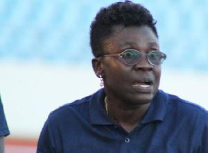Black Queens head coach Mercy Tagoe Quarcoo