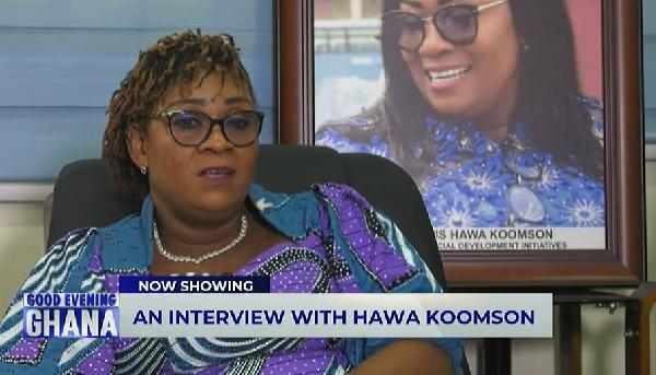 'I don't speak big English, my kind of 'brofo' is what I speak' – Hawa Koomson