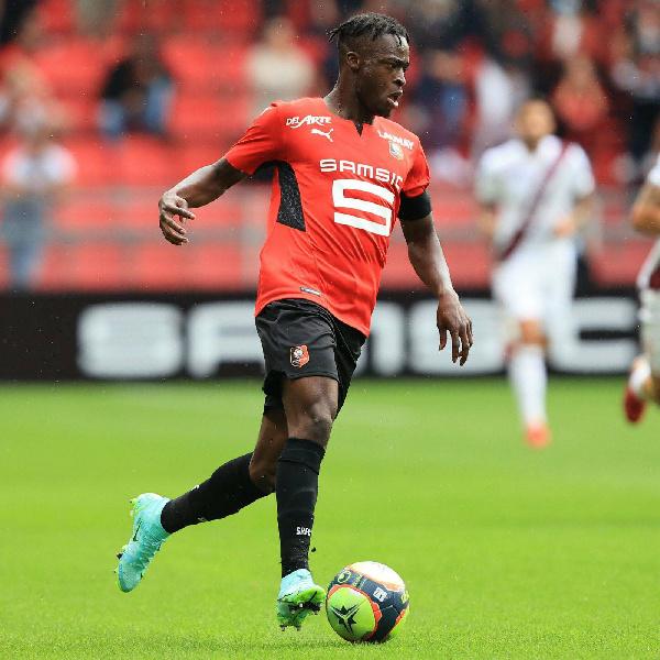 Kamaldeen Sulemana scores stunning goal for Rennes in Ligue 1