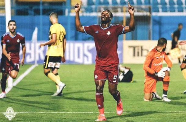 Striker John Antwi joins Tala'ea El Gaish from Pyramids in Egyptian Premier League