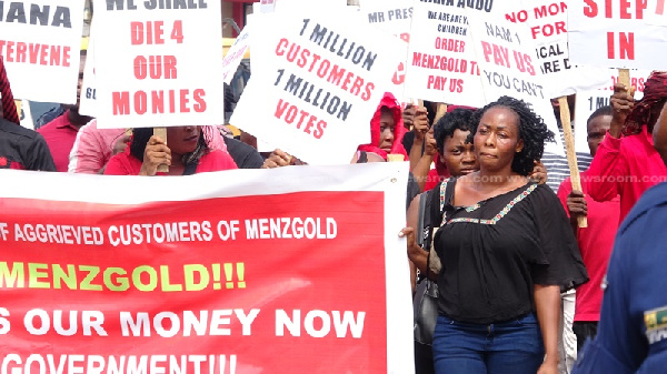 Probe Menzgold collapse, whereabouts of 400kg in gold assets – Menzgold customers to Parliament