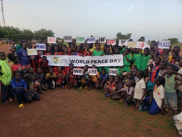 Rural Soccer Ghana celebrates Peace Day