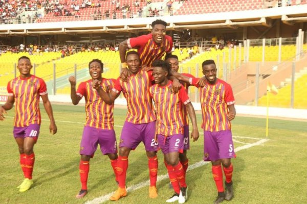 Hearts ease past CI Kamsar to book a spot in second round