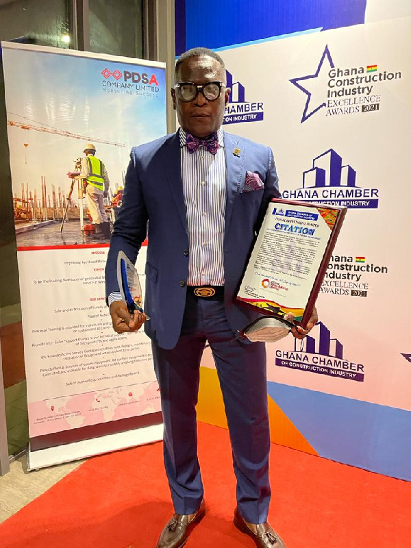 OSWAL Investment Group Limited is Best Innovative Construction Company of the Year 2020/2021