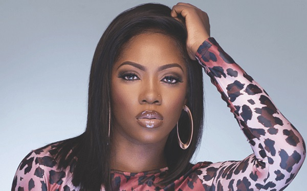 Tiwa Savage tops Twitter trends after the release of her alleged adult video