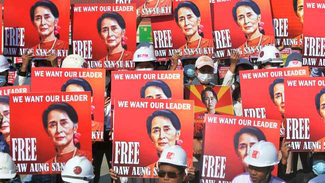 Myanmar to put ousted leader Suu Kyi on trial for corruption
