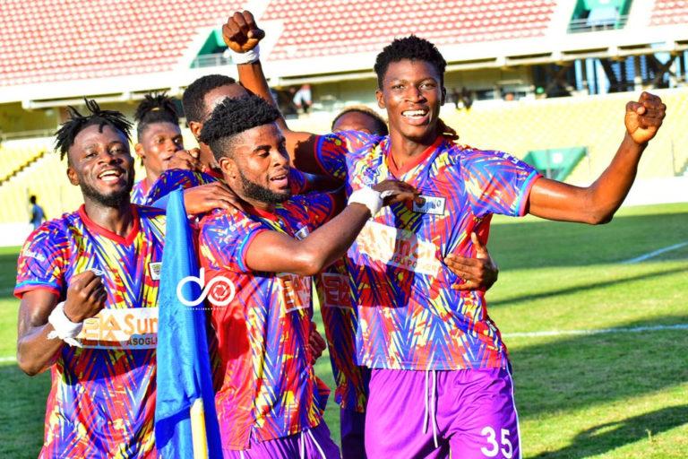 CAF CL: Hearts 2 – 0 Kamsar