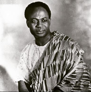Dr Kwame Nkrumah, Ghana's first president