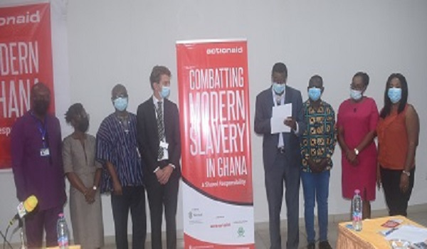 Combatting modern slavery project launched, to be implemented in 100 communities