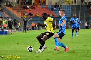 Ghana forward Emmanuel Gyasi