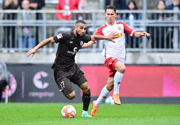 Black Stars new boy Daniel Kyereh delighted after netting in St Pauli's victory in Germany
