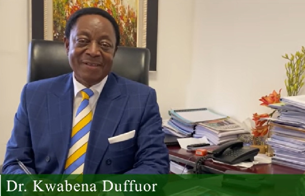 Kwabena Duffuor drops 'Ghanaian dream' video amid talk of presidential ambition