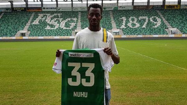 Musah Nuhu named in Swiss Super League Team of the Week