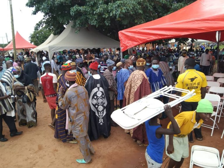 Scores throng Walewale to mourn Bawumia's mother [Video+Photos]