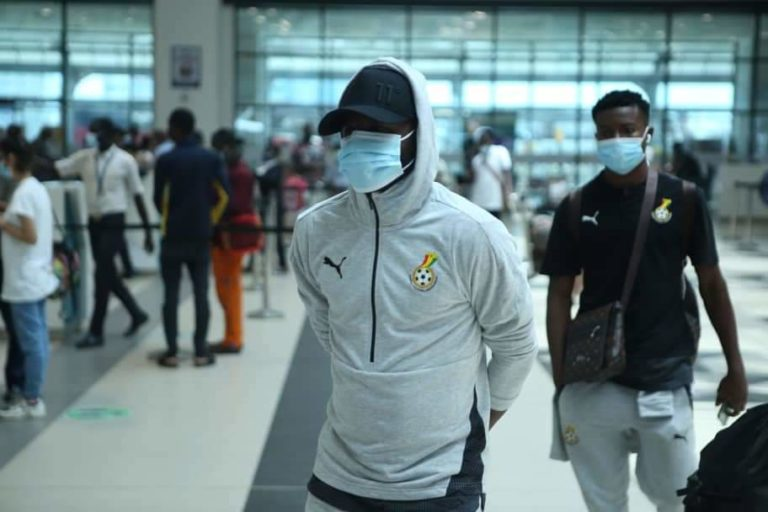 Black Stars English Players Leave Camp