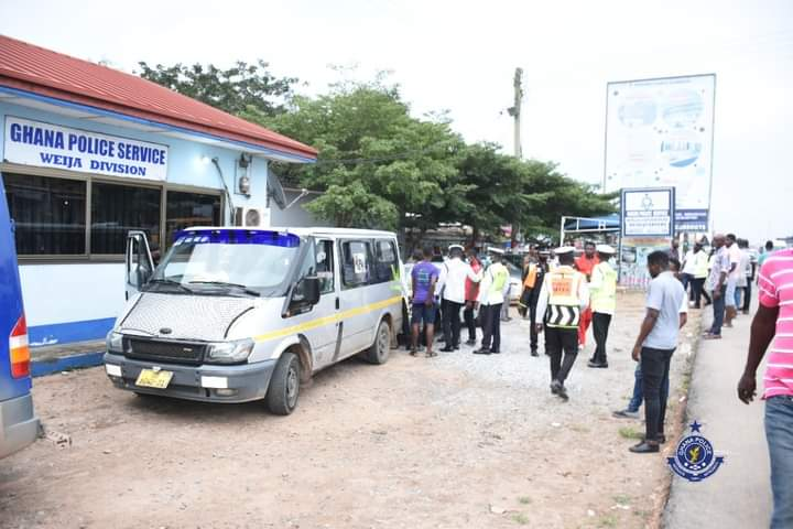 22 Vehicles Impounded at Kasoa Tollbooth