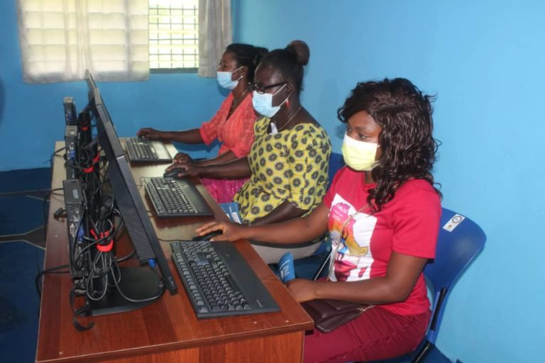 THP-Ghana Connects Rural Women To The Internet