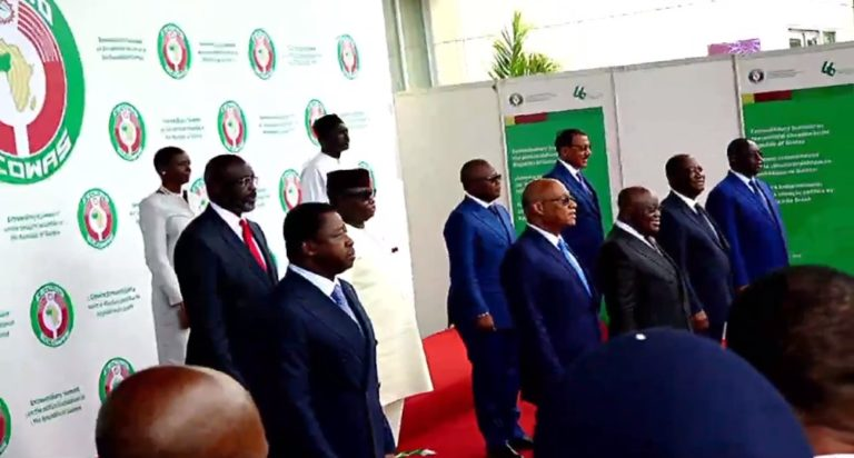 ECOWAS Bans Guinea Coup Leaders From Traveling, Freeze Financial Assets