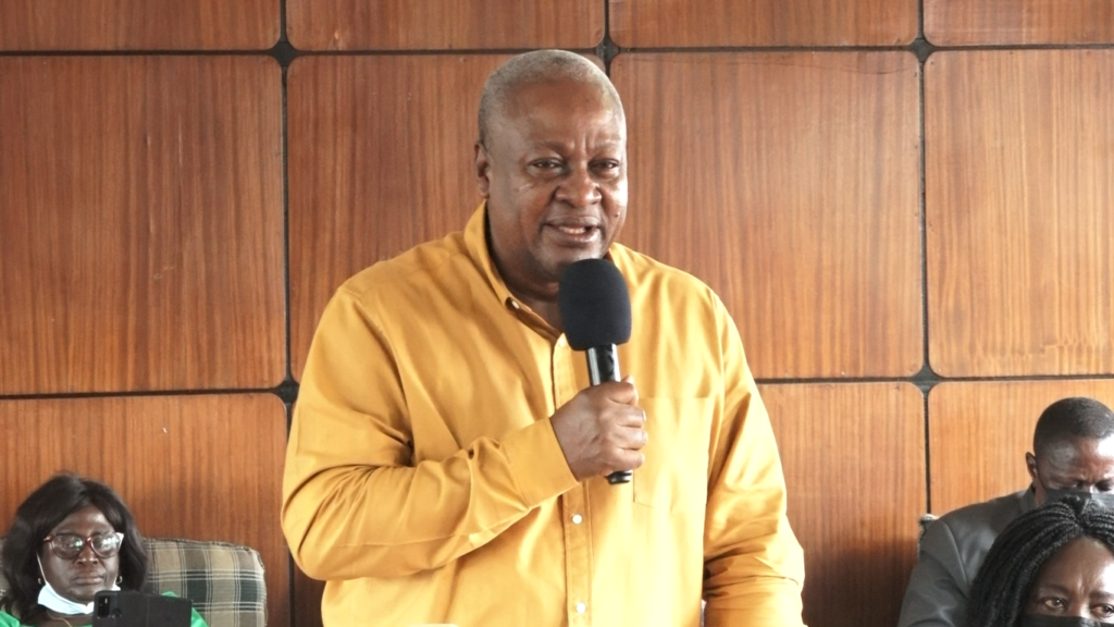 Buying past questions for students unnecessary - Mahama