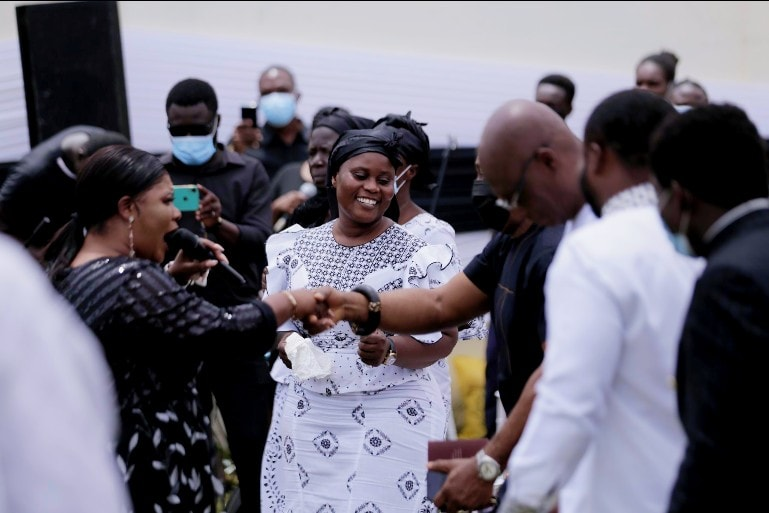 MPs, Samia Nkrumah, Obaapa Christy and others mourn with Jomoro MP