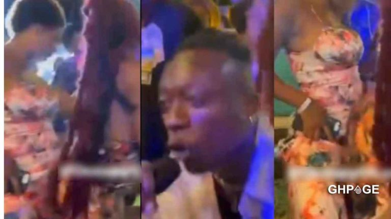 Kofi Jamar performs at an alleged secret lesbian party in Accra – Video