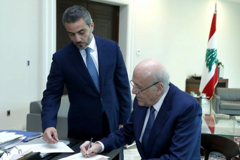 Lebanon forms new government in effort to slow nation's collapse