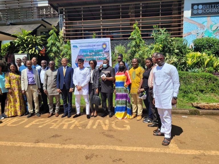 NPA boss visits Sierra Leone; pledges Ghana assistance