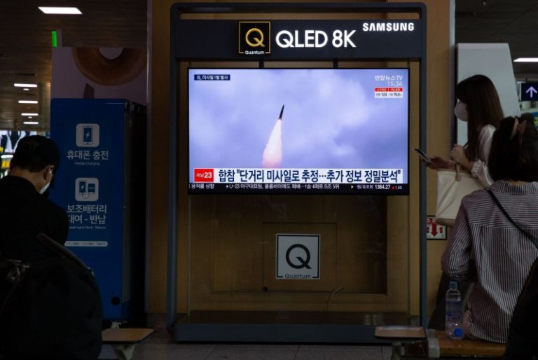 North Korea says it tested new hypersonic ballistic missile this week