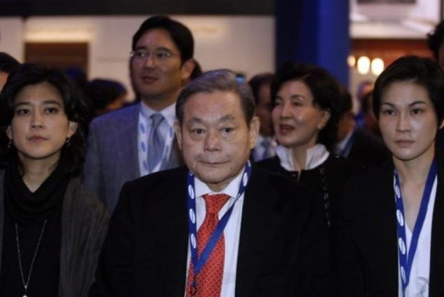 Samsung heirs receive big dividends