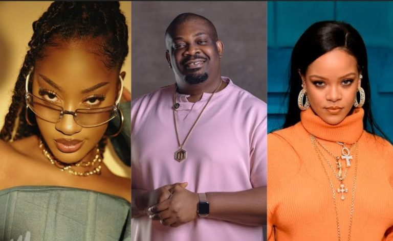 Don Jazzy reacts after Tems met and hugged his crush Rihanna » ™