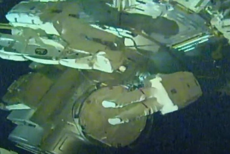 Watch live: Two astronauts perform spacewalk