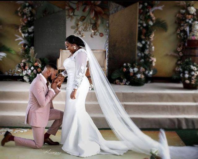 Stan Nze wedding: Nollywood Stanley Ebuka Nzediegwu, Blessing Jessica Obasi marriage foto