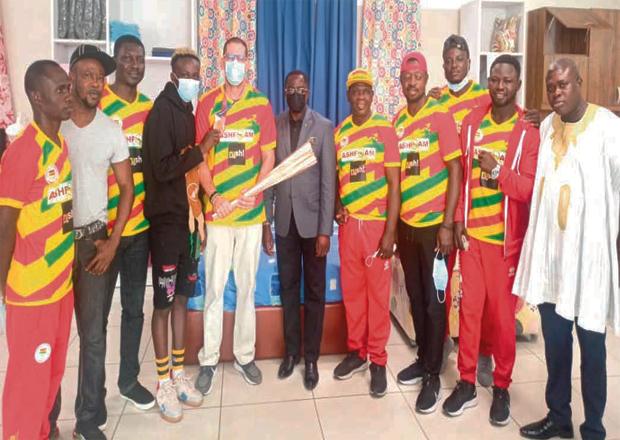 Ashfoam Host Tokyo 2020 Team Ghana
