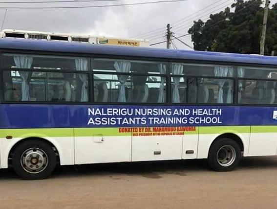 Bawumia Donates 33-Seater Bus To Nalerigu Nursing and Midwifery Training College