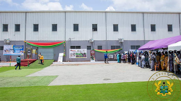 Akufo-Addo Commissions Factory In Nkwanta