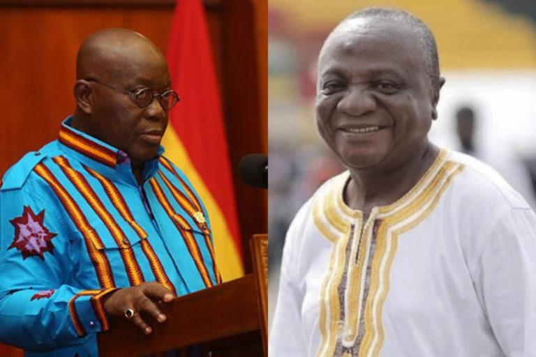 President Nana Akufo Addo Mourns The Late Nana Ampadu