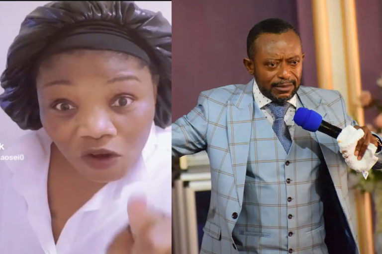 Man Of God Fighting A Woman – Linda Osei Blasts Owusu Bempah For Storming Agradaa's House With Gunmen
