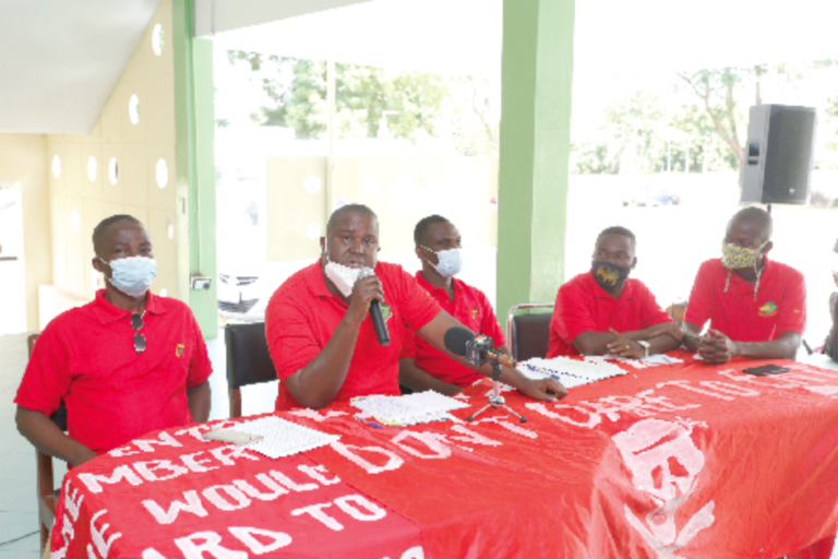 GBC workers protest land takeover